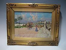 Gustavo GALLARDO RUIZ (1891-1971) Spanish artist painting