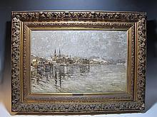Angelo ROSSINI (1871-1939) Italian artist painting