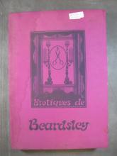 Work of Aubrey Beardsley 44 erotic engravings book