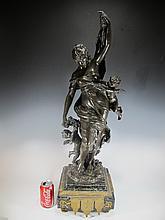 Auguste MOREAU (1834-1917) bronze statue