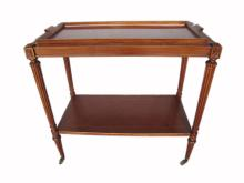 French Louis XVI style buffet table on wheels