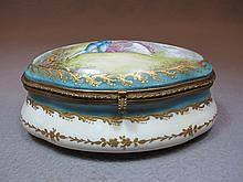 Antique French Severs porcelain box