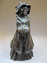 Jean Victor BADIN (XIX-XX) bronze statue