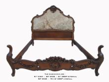 Amazing old French Louis XV full bed