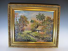 Luis POSADAS CARRILES, Cuban artist painting