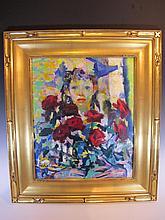 Luigi CORBELLINI (1901-1968) oil on canvas painting