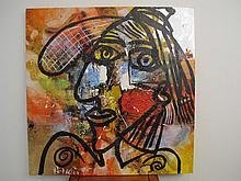 Peter Robert KEIL (1942) oil on canvas painting