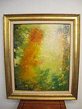 Signed Angelo FRANCO oil on canvas painting