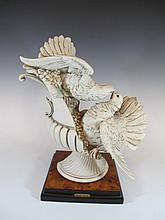 Giuseppe ARMANI (1935-2006) capodimonti statue