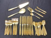 TOWLE ROSE SOLITAIRE STERLING 51 PIECE SERVICE 8