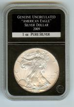 2009 AMERICAN EAGLE 1 OZ SILVER UNCIRCULATED GRADE