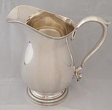 Frank M. Whiting Sterling Silver Water Pitcher