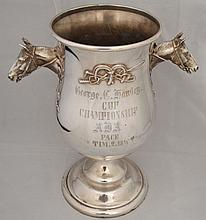 Reed & Barton Horse Silverplate Trophy