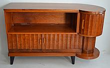 Superb Art Deco Style Wooden Bar Cabinet