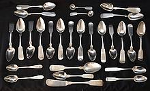 27 Coin Silver Spoons