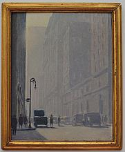 James Perry Wilson O/B Painting of New York City