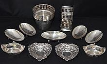 Lot of Vintage Reticulated Sterling pieces