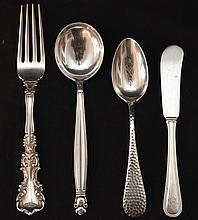 Lot Of Misc Sterling Silver Flatware