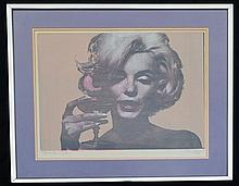Bert Stern Signed Marilyn Monroe Artist Proof