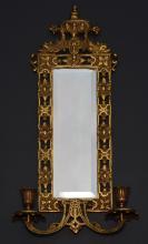 Bradley & Hubbard Mirrored Wall Sconce