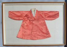 Large Framed Chinese Silk Jacket