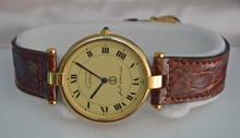 Saudi Bank Must de Cartier Watch w Box