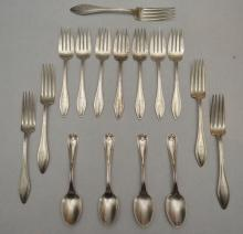 Tiffany Colonial & Towle Mary Chilton Sterling Flatware