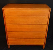 Conant & Ball Russell Wright 5 Drawer Dresser