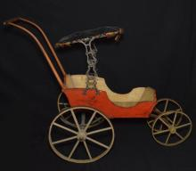 Antique Doll Carriage / Pram