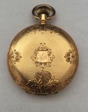 18K Gold Philidelphia Watch Co. E. Paulus Pocket Watch