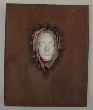 An Amazing Vintage Figural Metal And Plaster Sculpture