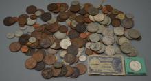 Large Lot of Foreign Coins