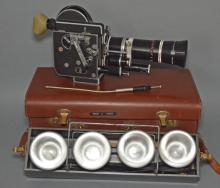 Bolex H16 Reflex Video Camera w Film/Case