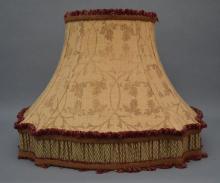 Pair of Custom Lamp Shades w Reds