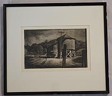 Landeck Signed Drypoint West Cornwall