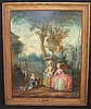 French Painting Attributed to Gustave Moreau, Jean-Honore Fragonard, $800