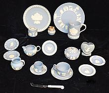 Large Collection of Wedgwood Jasperware Pieces