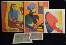 Collection of Estatelle Laverne Artwork