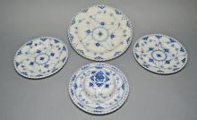 Royal Copenhagen Full Lace Plates & Butter Dish