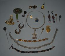 Eclectic Lot of Antique & Vintage Jewelry