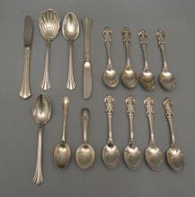 Generous Lot of Sterling Silver Flatware & Accessories