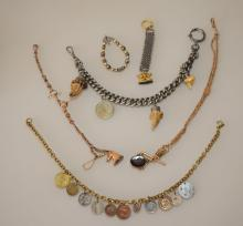 Lot of Antique Watch Fobs
