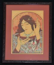 Marcel Lenoir French Art Nouveau Print