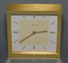 Tiffany & Co NBC 1975 Desk Clock