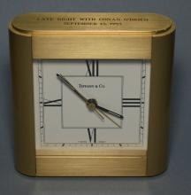Tiffany & Co Late Night w Conan O'Brien Desk Clock