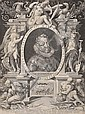 EMPEROR RUDOLF II IN AN ALLEGORICAL FRAME, Hans Von Aachen, Click for value