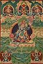 A THANGKA OF THE GURU PADMASAMBHAVA