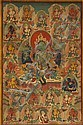 A THANGKA OF THE GREEN TARA