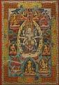 A THANGKA OF THE BODHISATTVA AVALOKITESHVARA