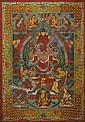A THANGKA OF THE TRANSCENDENTAL BUDDHA AMITABHA